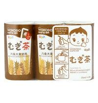 【箱買い】和光堂 元気っち むぎ茶  まとめて6パック(125ml×3個を)  02P03Dec16