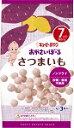 【キューピー】ベビーおやつシリーズ S−1  おやさいぼーる さつまいも  /7ヵ月頃から/離乳食/ベビーフード  02P03Dec16
