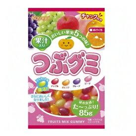 【ケース販売】【春日井】つぶグミ 85G ×6袋  02P03Dec16