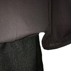 【LOVEMIC】授乳口付マタニティシフォン×ツィードワンピースドレス(584347)/フォーマルドレス/マタニティドレス/式服/授乳服