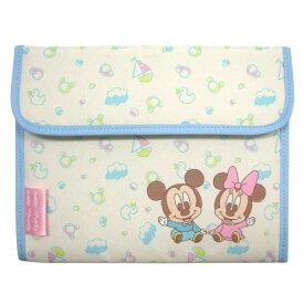 【Disney ディズニー】母子手帳ケース ベビーミッキー&ベビーミニー ジャバラタイプ DMM-2206K ディズニーベビー ベビー 赤ちゃん クーザ