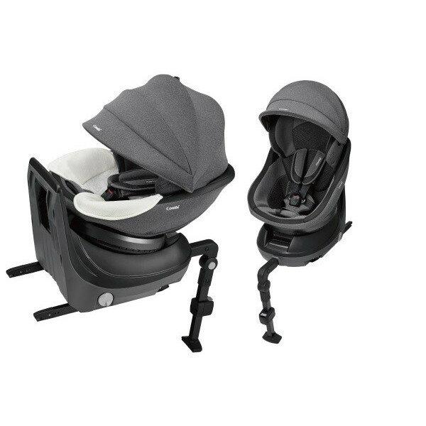 【コンビ】ホワイトレーベル クルムーヴ スマート ISOFIX エッグショック JJ-650 グレー(GL)/ISOFIX固定タイプ/新生児から4才頃まで WHITELABEL