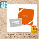 \ポイント5倍/ 【送料無料】カード式 BEAMS ビームス カタログギフト ebook ブラウン Brown 10700円 ハーモニック 結婚 引き出物 内…
