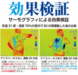 熱中症対策グッズ冷却ベスト上位モデルアイスハーネス保冷剤6個付きセット男女兼用工事現場農作業スポーツ熱中症対策クールベストクールビズクールジャケット(ネコポス便不可)