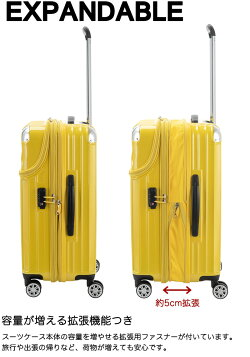 トップオープンスーツケースSサイズ容量を増やせる拡張機能エキスパンダブル搭載35L-43Lトラベリストモーメントジッパータイプフロントオープン4輪ハードキャリーケース(送料無料/沖縄除く)