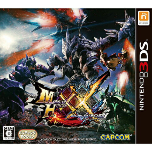 新品/送料無料 モンスターハンターダブルクロス 3DS モンハン パッケージ仕様