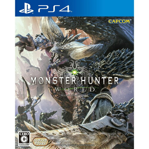 新品/送料無料 モンスターハンター:ワールド - PS4 数量限定特典なし
