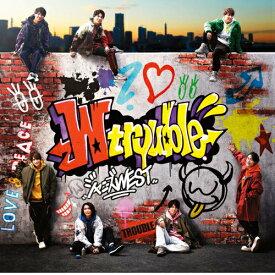 希少品/送料無料 W trouble (初回盤B) (CD+DVD-B) ジャニーズWEST ※特典終了しております。