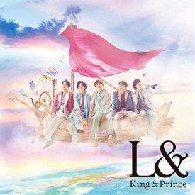 特典付 L& 初回限定盤B CD+DVD King & Prince キンプリ 特典:クリアポスター(A4サイズ)付