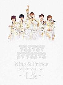 新品 King & Prince CONCERT TOUR 2020 L& 初回限定盤 Blu-ray