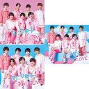 【特典付きBlu-ray3形態セット予約】初心LOVE (うぶらぶ) (初回限定盤1+初回限定盤2+通常盤) CD+Blu-ray なにわ男子