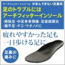 【AKAISHI公式通販】アーチフィッターインソールがまんできない足裏用足裏の痛みに♪衝撃吸収で足裏が痛くない!【P06Dec14】