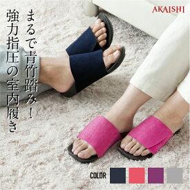 【AKAISHI楽天市場店】アーチフィッター601室内履きやみつき続出の室内履き!強めの足裏マッサージ刺激!スリッパ 男女兼用