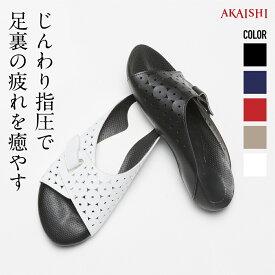 【AKAISHI楽天市場店】アーチフィッター603ソファやみつき続出の室内履き!ソフトな足裏マッサージ刺激!オフィスにもぴったり♪【P06Dec14】