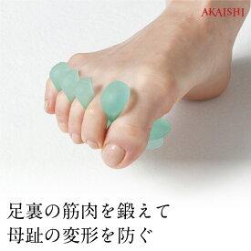【AKAISHI楽天市場店】母趾用トゥパッド