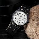 【メール便送料無料】ヴィンテージクラッシック★SOKIミリタリー腕時計【ブラック】カジュアル/スポーツ/レジャー/ア…