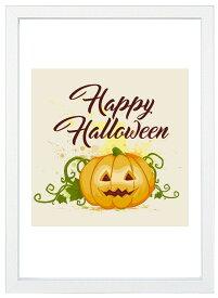 【メール便送料無料】A4ポスター ハロウィーンかわいいハッピーハロウィン インテリア/収穫祭/秋/かぼちゃ/フォト/写真/A4サイズ/インスタグラム/インスタ映え/インテリア小物/飾り/アート/イラスト/壁飾り