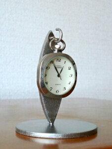懐中時計 リーフデザイン懐中時計スタンド