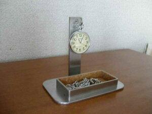 懐中時計 スタンド トレイ懐中時計収納、保管飾るスタンド KT459