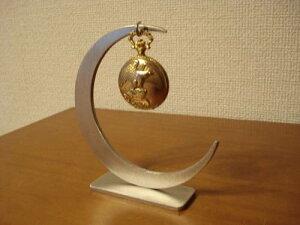 懐中時計スタンド 三日月デザイン懐中時計ディスプレイスタンド