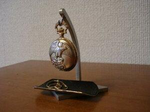 誕生日に懐中時計スタンド ディスプレイ懐中時計スタンドブラックトレイ付き KD34