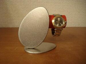 時計ケース プレゼントに!レッドダブルエッグ時計スタンド