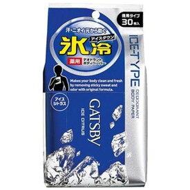 ギャツビー アイスデオドラント ボディペーパー アイスシトラス(30枚入)【GATSBY(ギャツビー)】