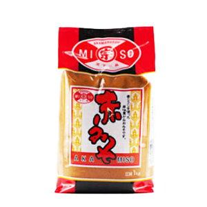 赤マルソウ 赤みそ(麦みそ) 1キログラム 直送 RCP 沖縄 みそ 麦味噌 みそ汁 味噌 味噌汁 沖縄みそ汁 赤味噌 業務用味噌 調味料