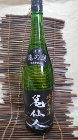 亀の井酒造 くどき上手純米大吟醸 亀仙人亀の尾 40% 1.8L