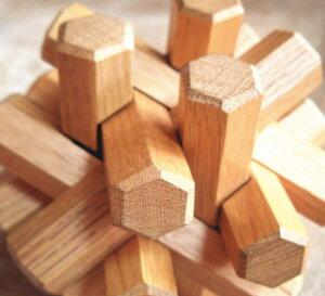 ウッディパズル 組木12本組  木製 玩具 おもちゃ 木のおもちゃ 北海道 ウッドクラフト インテリア オブジェ ウッディクラフト 雑貨 ギフト プレゼント