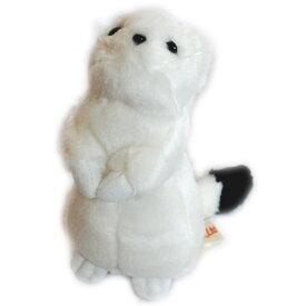 動物 (アニマル) ぬいぐるみ おこじょ 白 小サイズ  オコジョ 野生動物 縫いぐるみ ヌイグルミ どうぶつ