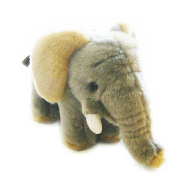 どうぶつ ぬいぐるみ ゾウ S  動物 ぞう 象 エレファント 雑貨 誕生日 クリスマス 記念日 ギフト プレゼント 贈り物 アニマル インテリア かわいい 心地いい 柔らか 子供