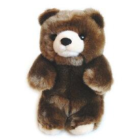 森のどうぶつ ぬいぐるみ ヒグマ S サイズ  動物 ひぐま くま クマ 熊 羆 縫いぐるみ おもちゃ 玩具 クリスマス 誕生日 記念日 プレゼント ギフト 贈り物 子供 キッズ グッズ かわいい キュート
