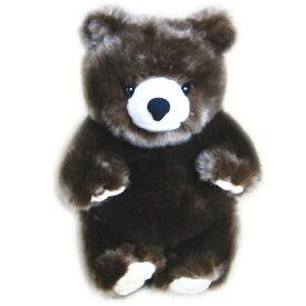 送料無料 森のどうぶつ ぬいぐるみ ヒグマ M  動物 くま ひぐま クマ 熊 羆 ヌイグルミ 縫いぐるみ アニマル おもちゃ 玩具 クリスマス 誕生日 ギフト プレゼント 贈り物 ふわふわ かわいい キュート