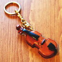革物語 THE LEATHER STORY キーホルダー バイオリン