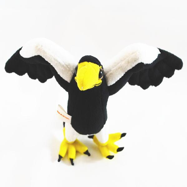 動物 (アニマル) ぬいぐるみ おおわし マスコット  野鳥 鳥 オオワシ 大鷲 鷲 縫いぐるみ とり おもちゃ 玩具 クリスマス 誕生日 記念日 ワシ トリ