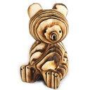 熊ボッコ 置物 大  北海道 お土産 木製 熊ぼっこ くまぼっこ クマボッコ 民芸品 グッズ 雑貨 インテリア…