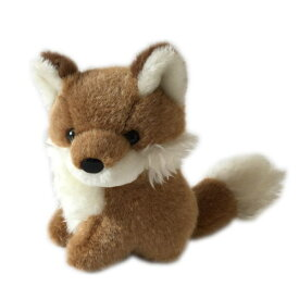 動物(アニマル)ぬいぐるみ きつね 小 どうぶつ きたきつね キタキツネ 狐 フォックス 野生動物 ヌイグルミ 縫いぐるみ キツネ