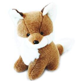 送料無料 動物(アニマル)ぬいぐるみきつね 大 どうぶつ きたきつね キタキツネ 狐 フォックス 野生動物 ヌイグルミ 縫いぐるみ
