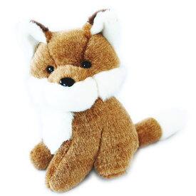 送料無料 動物(アニマル)ぬいぐるみきつね どうぶつ きたきつね キタキツネ 狐 フォックス 野生動物 ヌイグルミ 縫いぐるみ