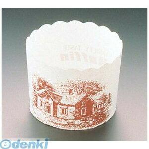 6698800 マフィンカップ ハウス柄 100枚入 白 M−405