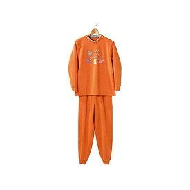 4985697221555 裏起毛パジャマ オレンジ M−L