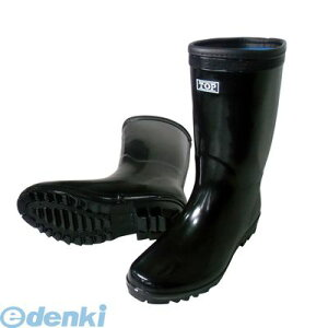 喜多 KITA 4931530550030 ブラック 25.0 軽半長靴 KR881