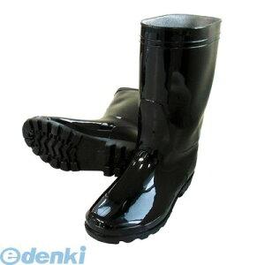 喜多 KITA 4931530558043 ブラック 25.5 PVC軽半長靴 KR980