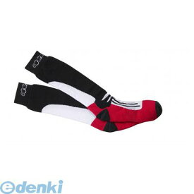 アルパインスターズ alpinestars 8033637778464 RACING ROAD SOCKS 30 BLACK−RED L/2XL