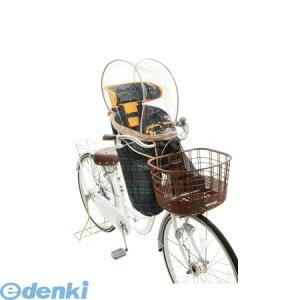 OGK技研 4511890211149 InRedコラボ ハレーロミニ 前子供乗せ用ソフト風防レインカバー チェック RCF−003 InRed