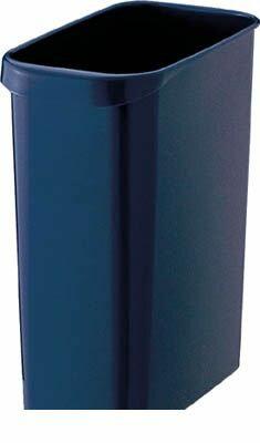 【あす楽対応】トラスコ中山(TRUSCO) [TGYC710] くず入れ 角型 18.0L グレー 353-9920