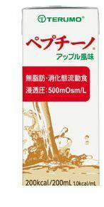 【キャンセル不可】テルモ [ER-LAA02] ペプチーノ アップル風味 ERLAA02