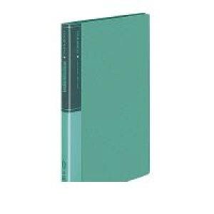 コクヨ KOKUYO 54103566 クリヤーブック<タフネス>固定式A4縦20枚ポケット緑 ラ−F560NG