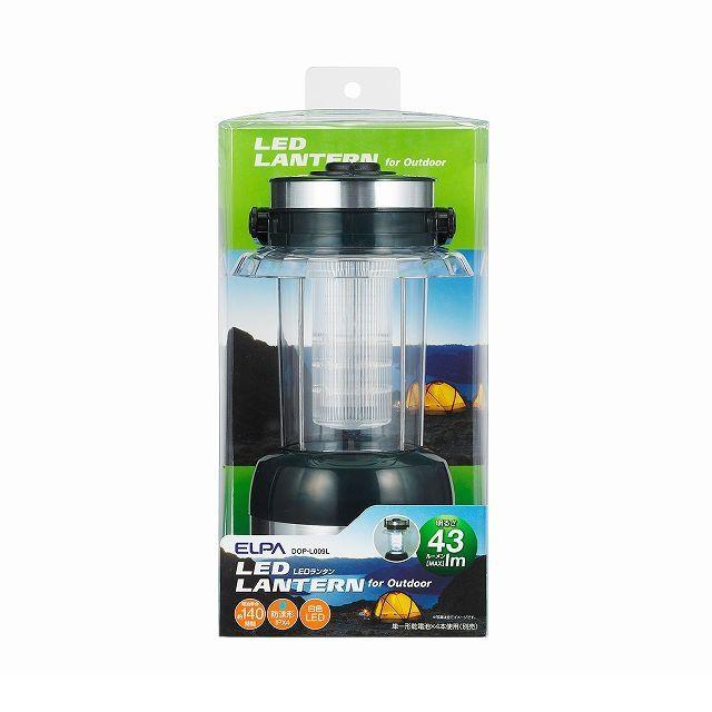 朝日電器(ELPA) [DOP-L009L] LEDランタン DOPL009L